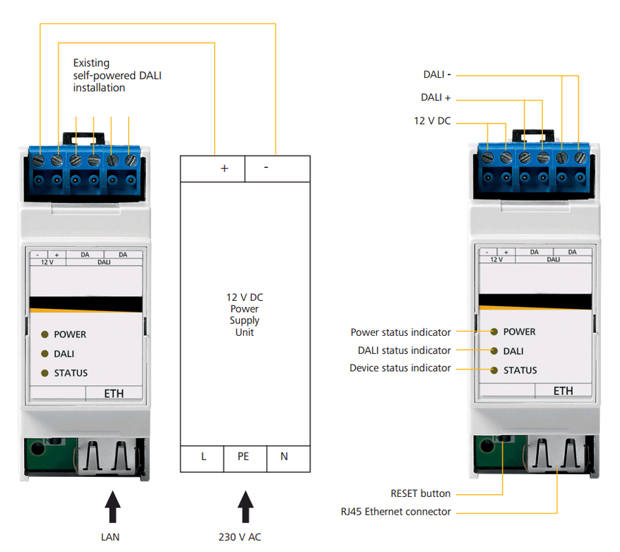 DALI IP LIGHTING GATEWAY R498ZZ9998 DALI IP brána pro ?ízení osv?tlení telefonem  sc 1 st  svetlo-svitidla-osvetleni.cz & DALI IP LIGHTING GATEWAY R498ZZ9998 DALI IP brána pro ?ízení ... azcodes.com